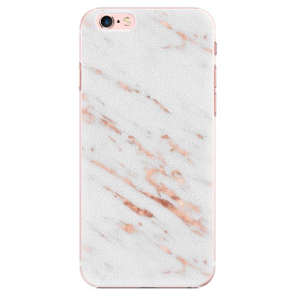 Plastové pouzdro iSaprio - Rose Gold Marble - iPhone 6 Plus/6S Plus