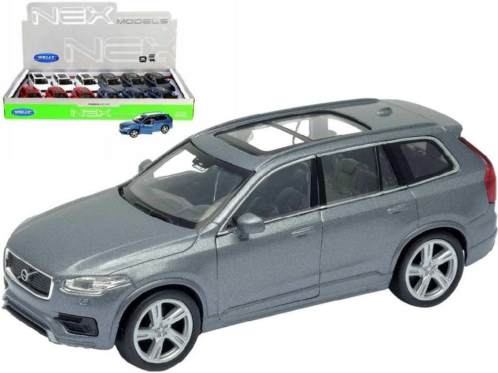 WELLY Auto kovové 12cm Volvo XC 90 model 4 barvy