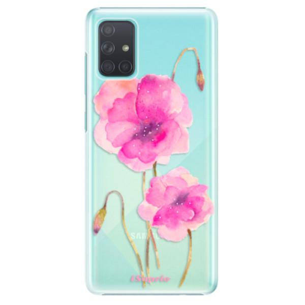 Plastové pouzdro iSaprio - Poppies 02 - Samsung Galaxy A71