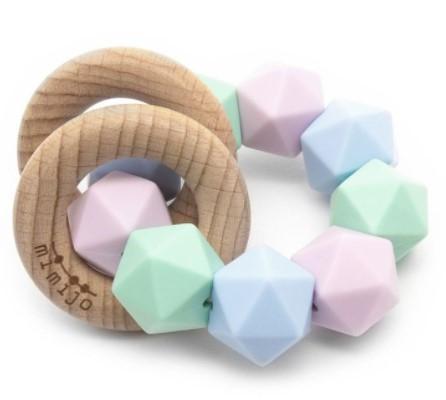 mimijo-silikonove-kousatko-a-chrastitko-2v1-penelope-pastelove