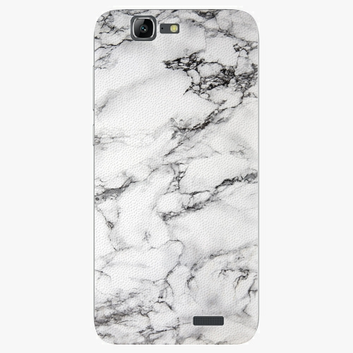 Plastový kryt iSaprio - White Marble 01 - Huawei Ascend G7