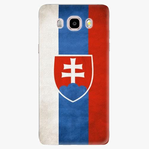 Plastový kryt iSaprio - Slovakia Flag - Samsung Galaxy J5 2016