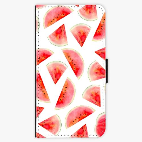 Flipové pouzdro iSaprio - Melon Pattern 02 - Lenovo Moto G5 Plus