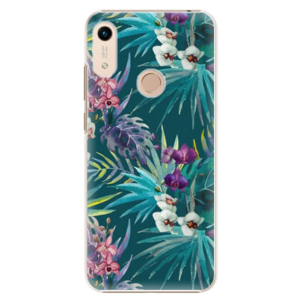 Plastové pouzdro iSaprio - Tropical Blue 01 - Huawei Honor 8A