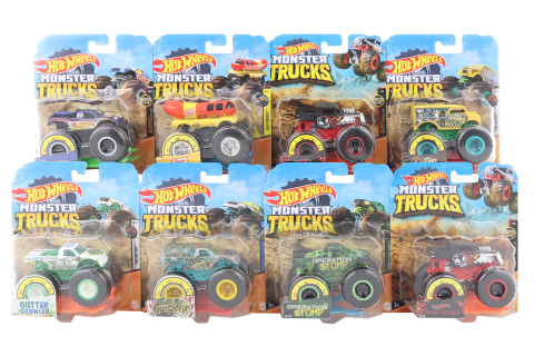 Hot Wheels Monster trucks kaskadérské kousky FYJ44 TV 1.3.- 30.