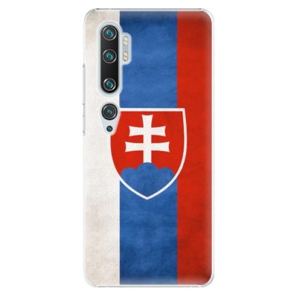 Plastové pouzdro iSaprio - Slovakia Flag - Xiaomi Mi Note 10 / Note 10 Pro
