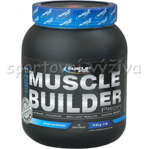 Muscle Builder profi - 1135g-vanilka