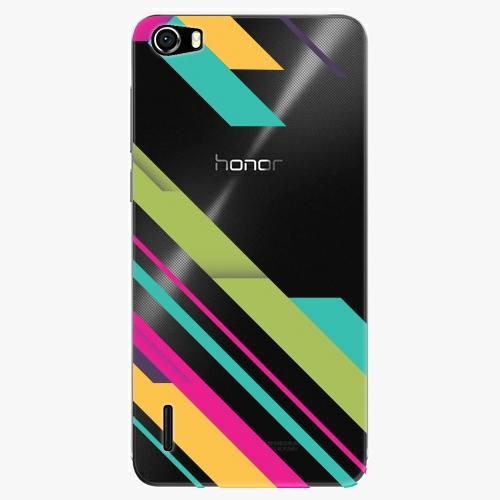 Plastový kryt iSaprio - Color Stripes 03 - Huawei Honor 6