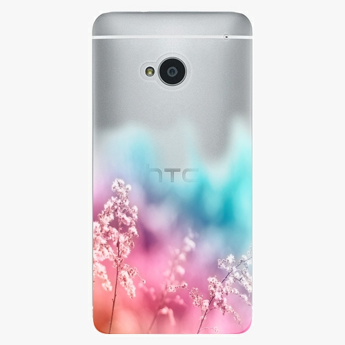 Plastový kryt iSaprio - Rainbow Grass - HTC One M7