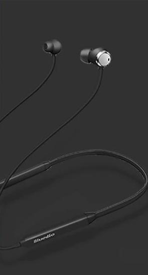 Bluetooth sportovní sluchátka - Černá