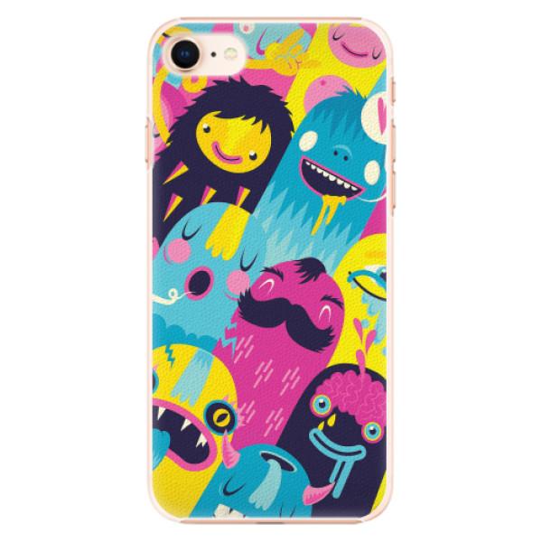 Plastové pouzdro iSaprio - Monsters - iPhone 8