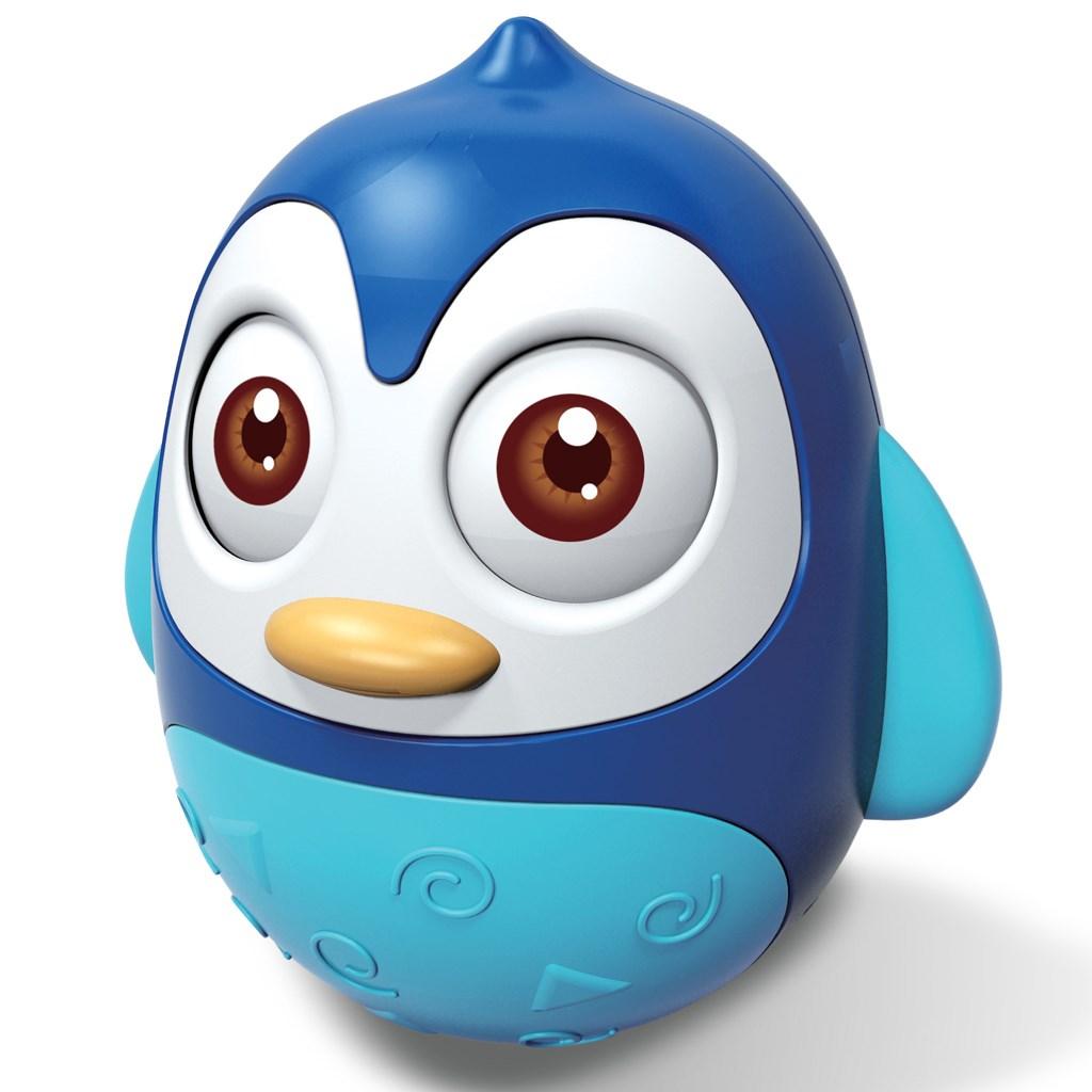 Kývací hračka Bayo tučňák blue - modrá