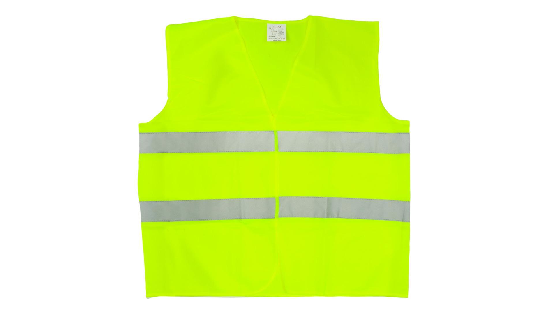4CARS Reflexní vesta XL zelená