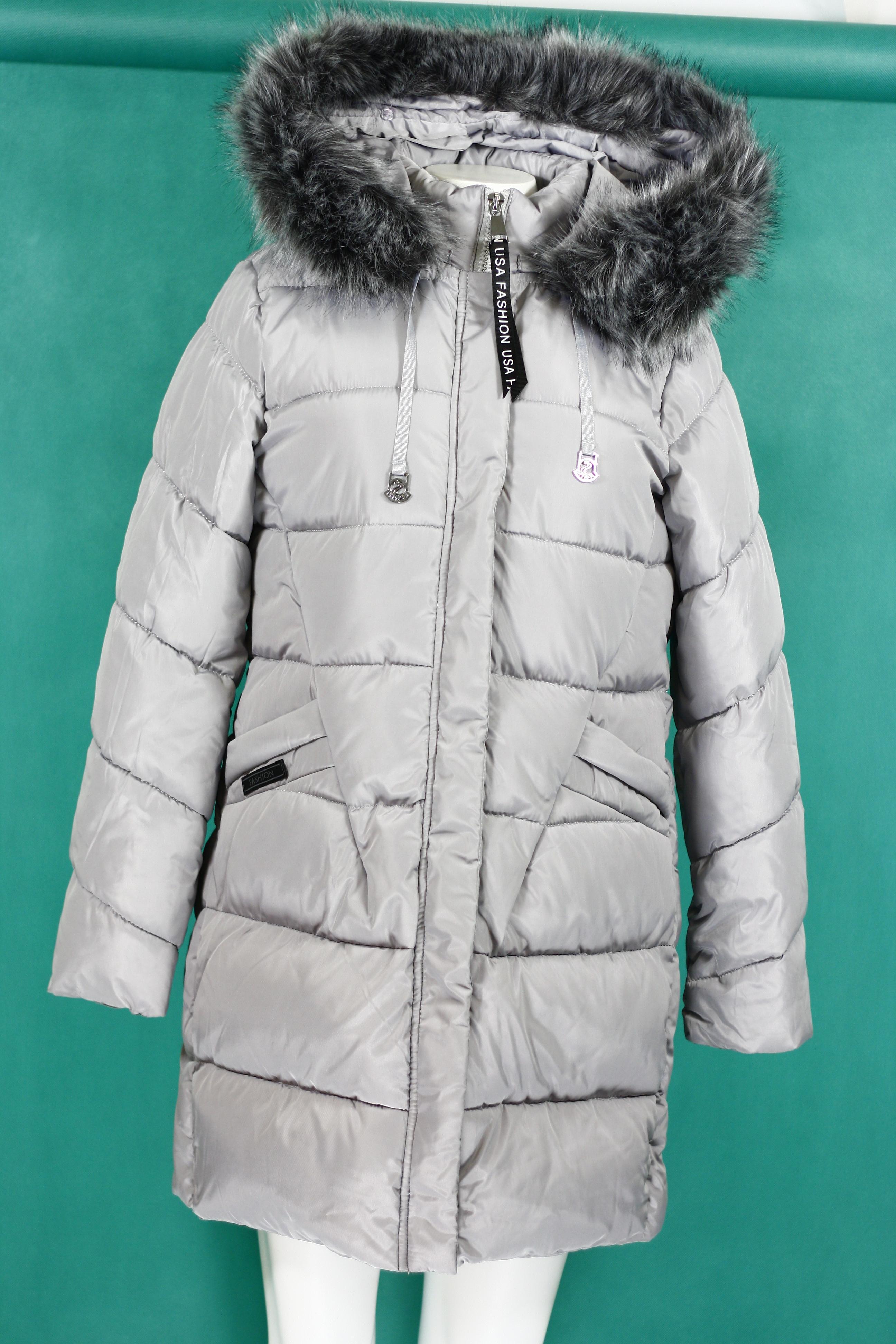 Dámská zimní bunda s kapucí BH-1765 (ty0180) - Forever - Růžová/S