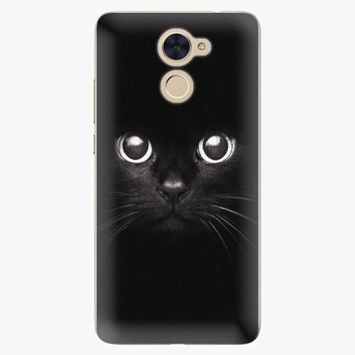 Plastový kryt iSaprio - Black Cat - Huawei Y7 / Y7 Prime