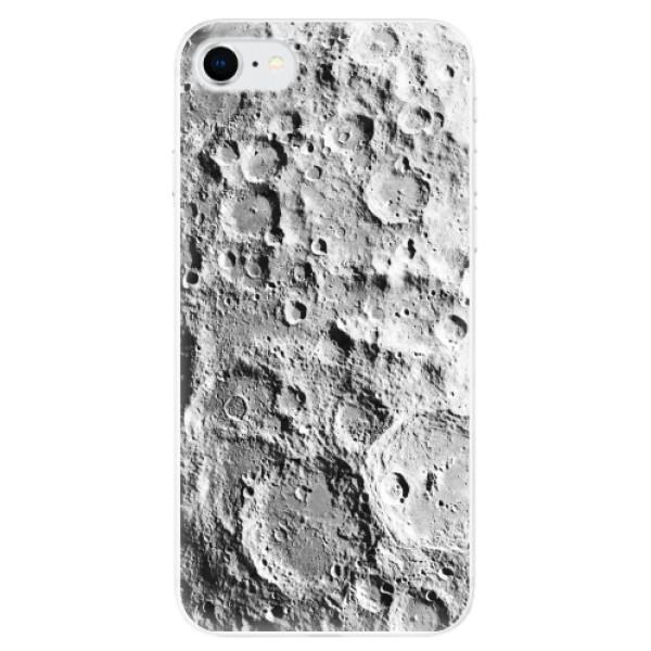 Odolné silikonové pouzdro iSaprio - Moon Surface - iPhone SE 2020