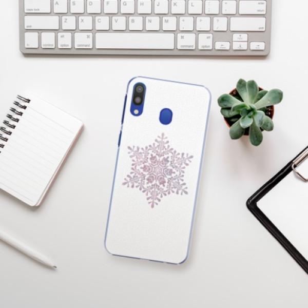 Plastové pouzdro iSaprio - Snow Flake - Samsung Galaxy M20