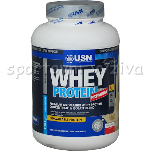 Whey Protein premium - 2280g-banan