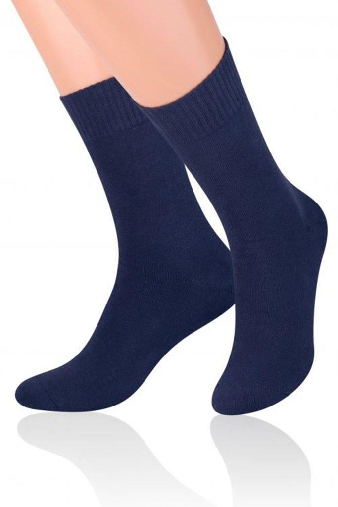 Pánské ponožky 015 Fortte dark blue - 41/43