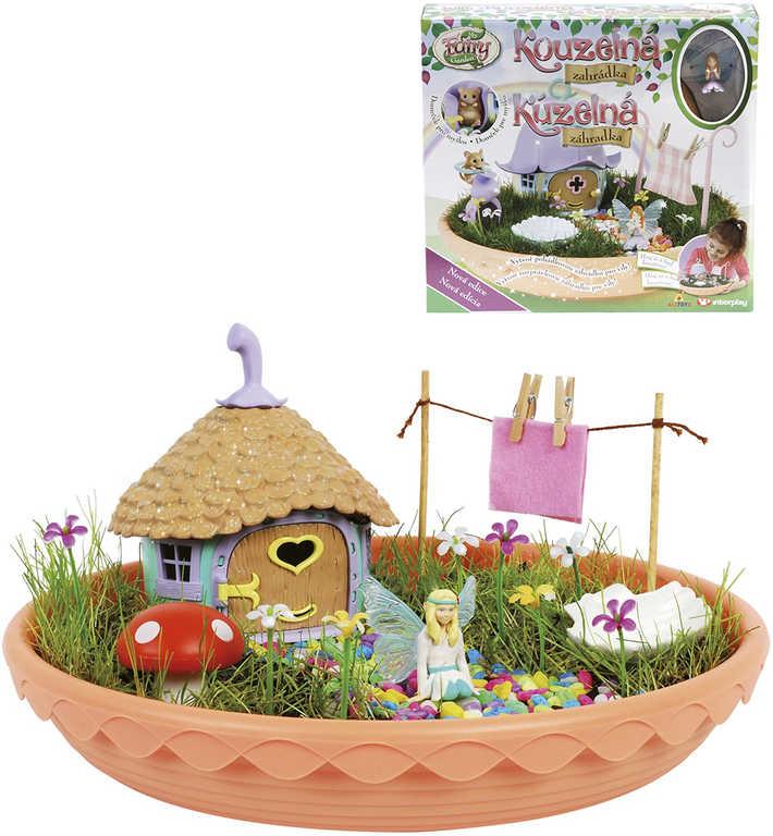 My Fair Garden kouzelná zahrádka set se semínky a domečkem pro vílu