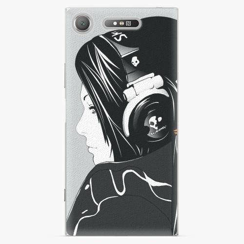 Plastový kryt iSaprio - Headphones - Sony Xperia XZ1