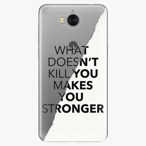 Plastový kryt iSaprio - Makes You Stronger - Huawei Y5 2017 / Y6 2017