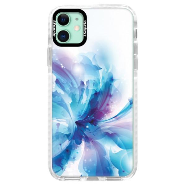 Silikonové pouzdro Bumper iSaprio - Abstract Flower - iPhone 11