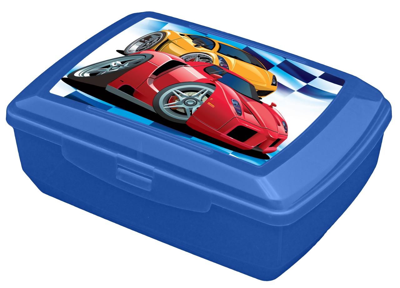 Svačinový box pro děti s potiskem - 1,3l