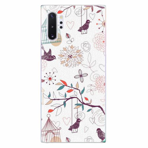 Silikonové pouzdro iSaprio - Birds - Samsung Galaxy Note 10+