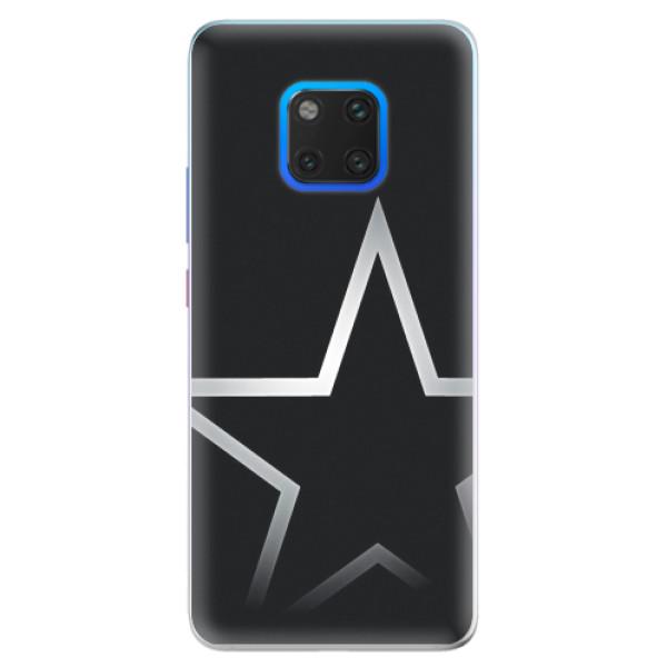 Silikonové pouzdro iSaprio - Star - Huawei Mate 20 Pro