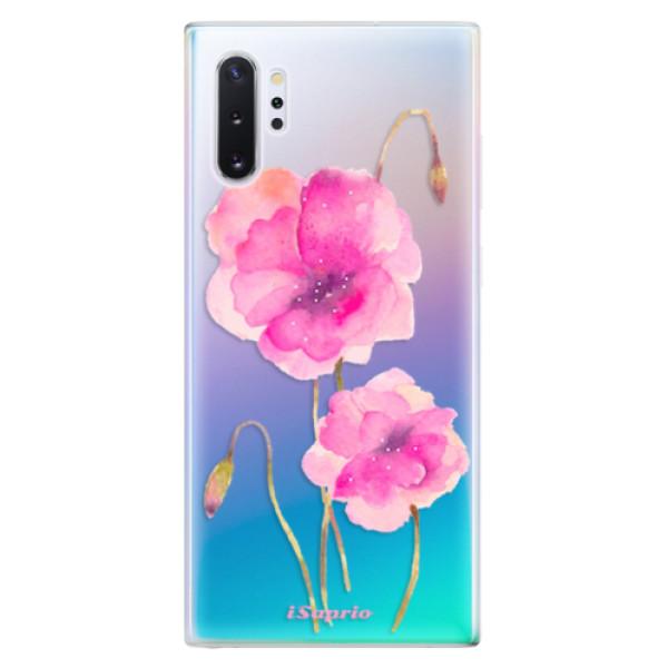 Odolné silikonové pouzdro iSaprio - Poppies 02 - Samsung Galaxy Note 10+