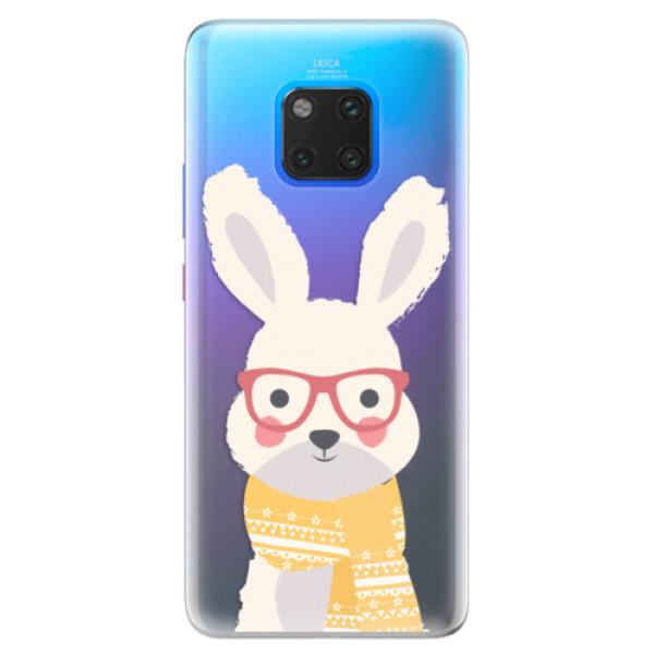 Silikonové pouzdro iSaprio - Smart Rabbit - Huawei Mate 20 Pro