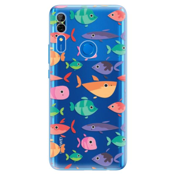 Odolné silikonové pouzdro iSaprio - Fish pattern 01 - Huawei P Smart Z