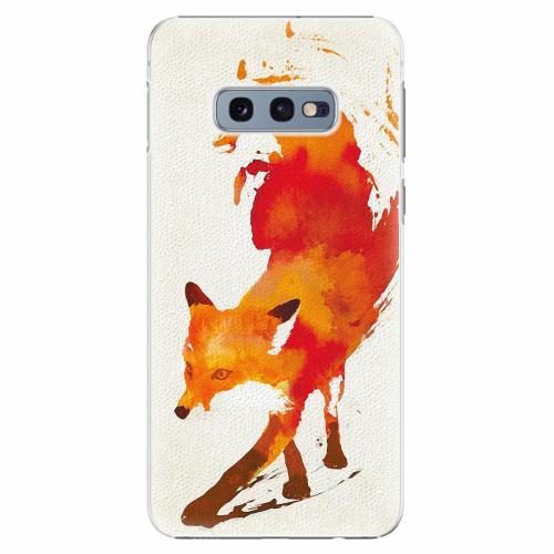 Plastový kryt iSaprio - Fast Fox - Samsung Galaxy S10e