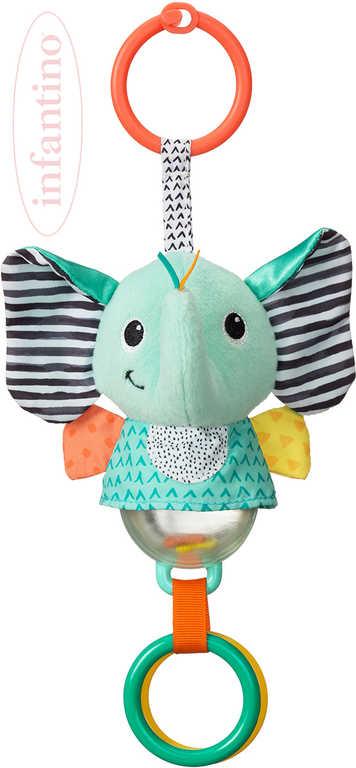 INFANTINO Baby slůně závěsné textilní na baterie Světlo pro miminko