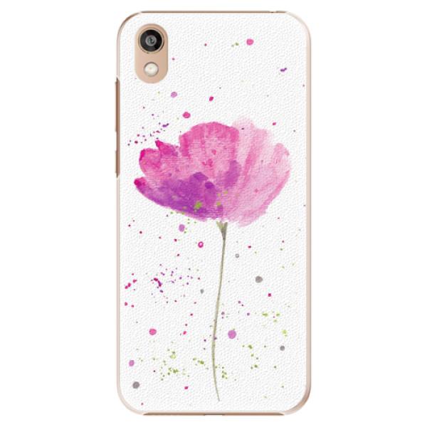 Plastové pouzdro iSaprio - Poppies - Huawei Honor 8S