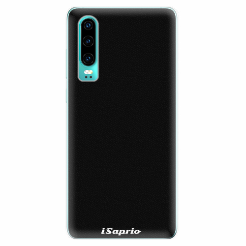 Silikonové pouzdro iSaprio - 4Pure - černý - Huawei P30