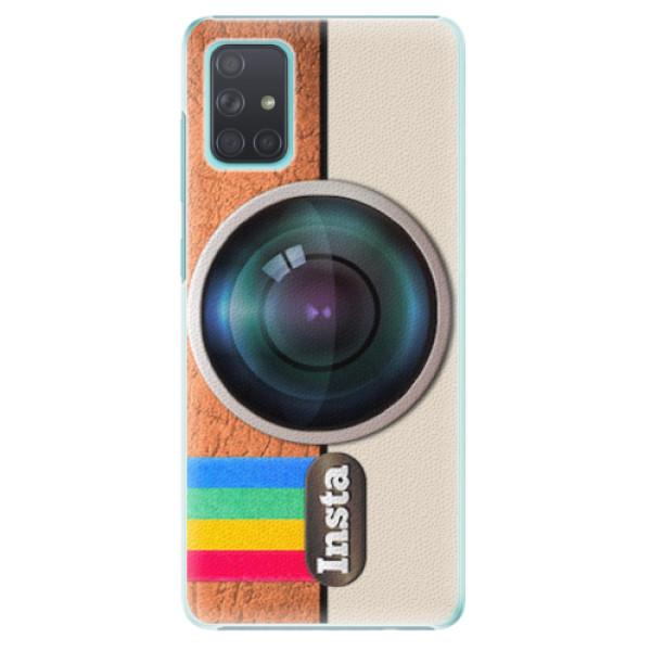 Plastové pouzdro iSaprio - Insta - Samsung Galaxy A71