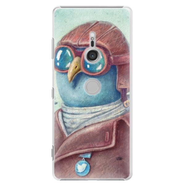 Plastové pouzdro iSaprio - Pilot twitter - Sony Xperia XZ3