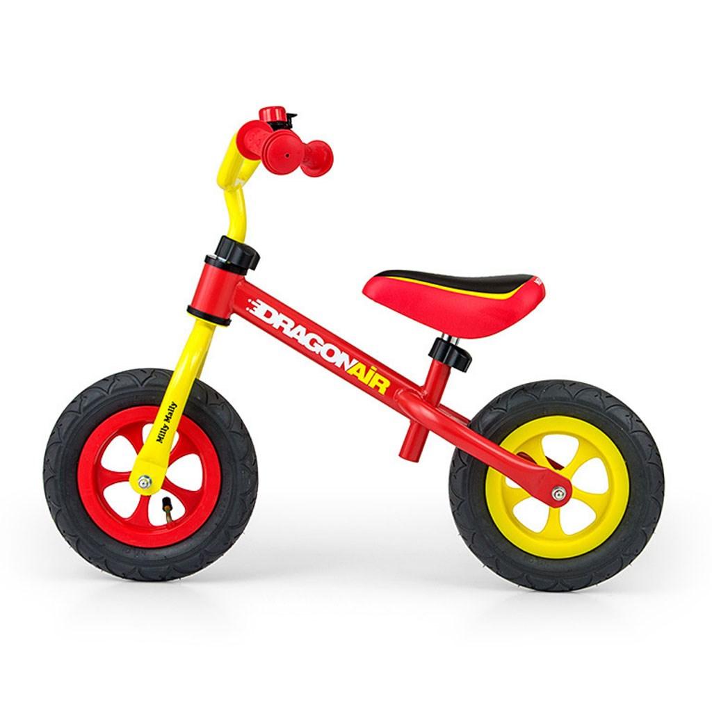 Dětské odrážedlo kolo Milly Mally Dragon Air - yellow-red - dle obrázku