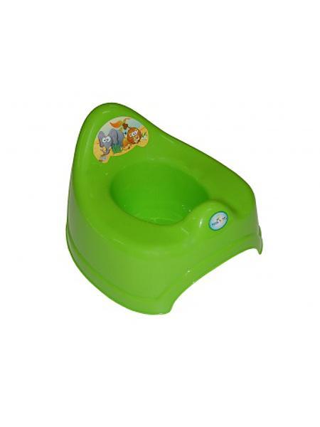 Hrající dětský nočník safari - zelená