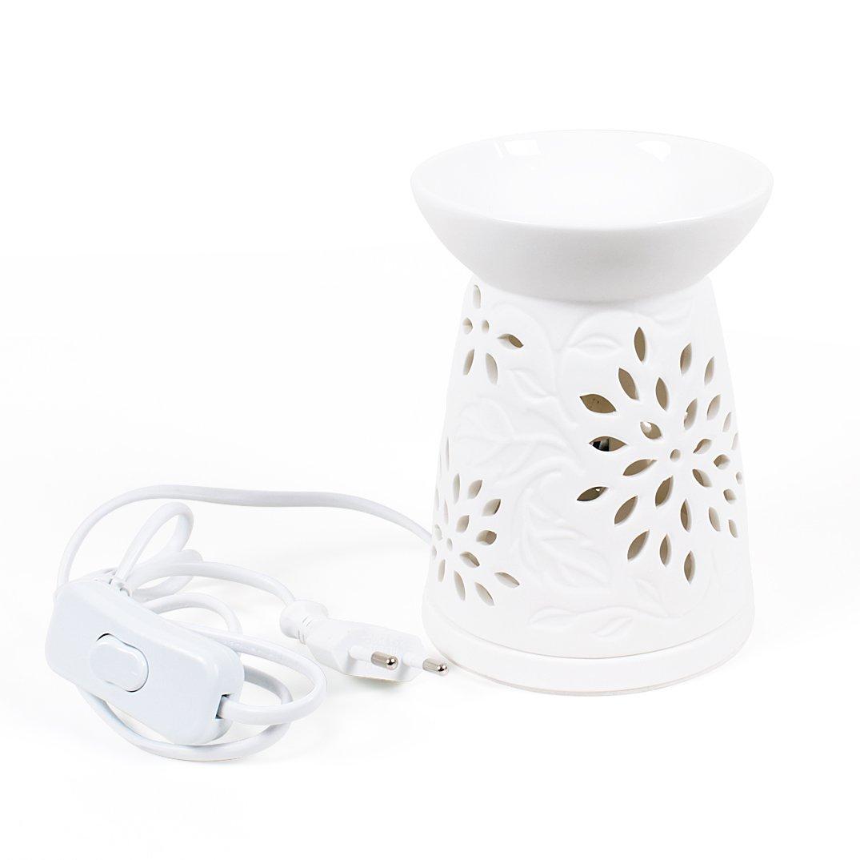 Elektrická aromalampa na vosky- květy
