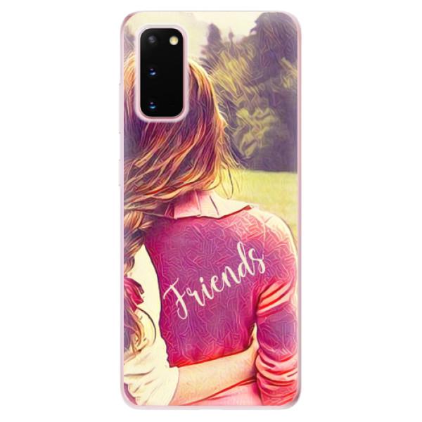 Odolné silikonové pouzdro iSaprio - BF Friends - Samsung Galaxy S20