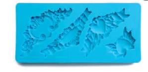 3D forma na fondant ornamenty