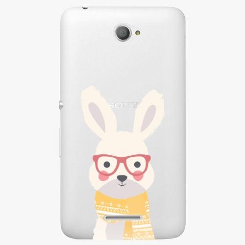 Plastový kryt iSaprio - Smart Rabbit - Sony Xperia E4