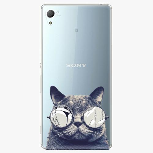 Plastový kryt iSaprio - Crazy Cat 01 - Sony Xperia Z3+ / Z4