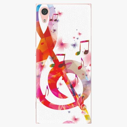 Plastový kryt iSaprio - Love Music - Sony Xperia XA1