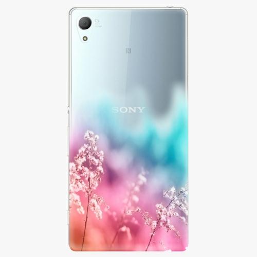 Plastový kryt iSaprio - Rainbow Grass - Sony Xperia Z3+ / Z4