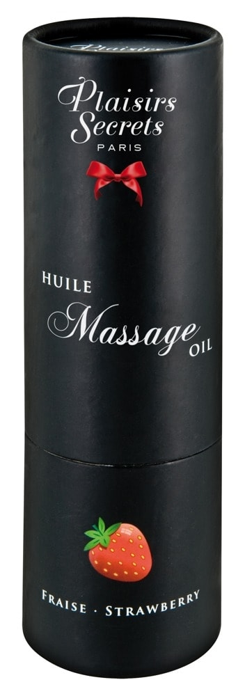 Plaisirs Secrets Huile Massage Oil jahoda 59 ml
