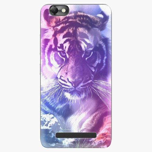 Plastový kryt iSaprio - Purple Tiger - Lenovo Vibe C